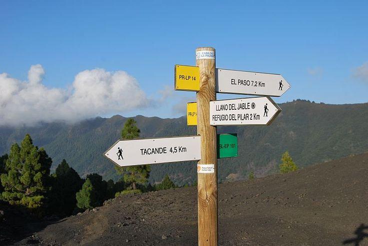 Wandelwijzer Llano del Jable, de vulkanen