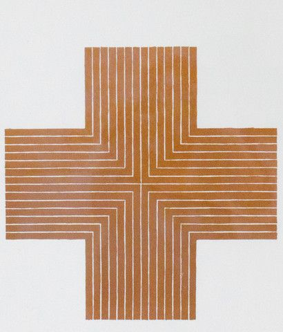 """Frank Stella 