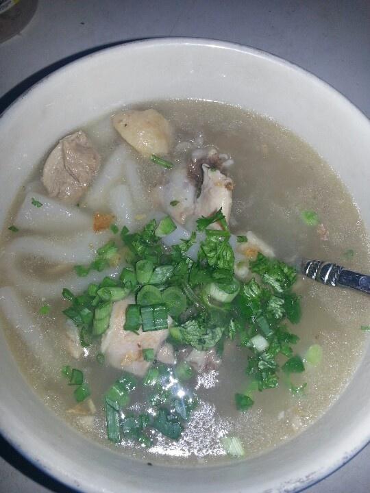 Khao Piek Sien - Laos food. Handmade noodles, down home cooking