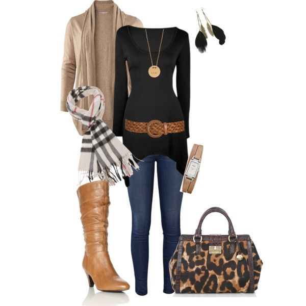 """fall safari"" by vbean on Polyvore"