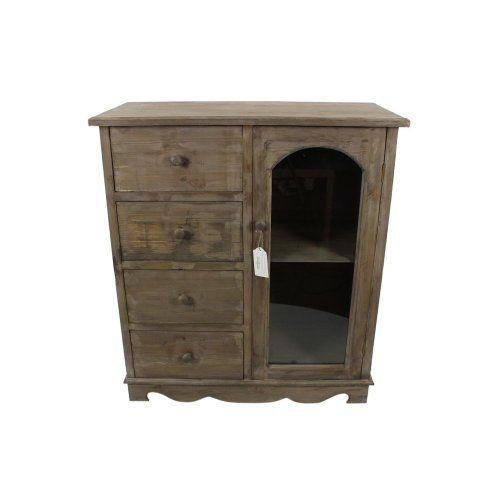 241 20 38 livraison meuble bas rangement bois 4 for Autrefois decoration