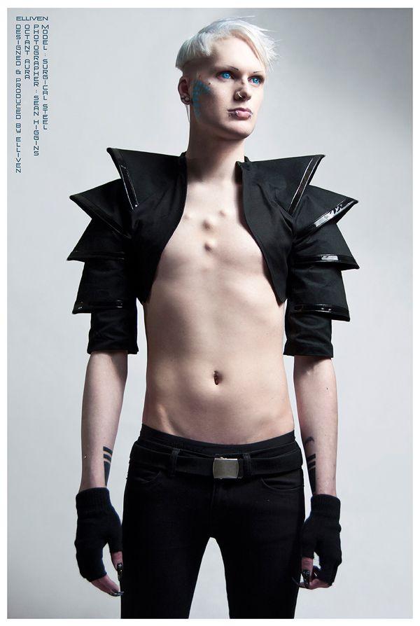 elliven! melbourne futuristic avant garde couture designer - pinned by RokStarroad.com