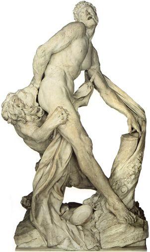 Milon de Crotone - Le meilleur combattant de tous les temps en Lutte « Orthopale »