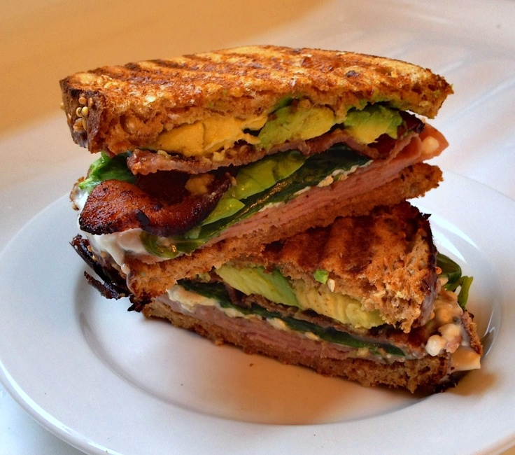 spinach and avocado ham swiss avocado and spinach panini recipes