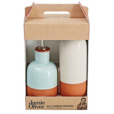 Jamie Oliver Terracotta oil & vinegar drizzlers-   Debenhams