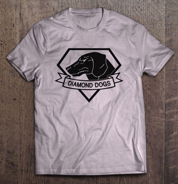 Metal Gear Solid Diamond Dogs T-Shirt