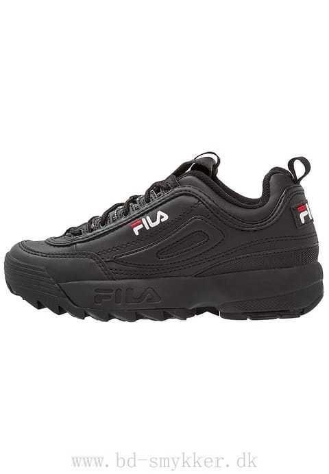 Fila Sneakers til damer Brun - DISRUPTOR LOW Sneakers Førsteklasses  imiteret læder - 4091397254