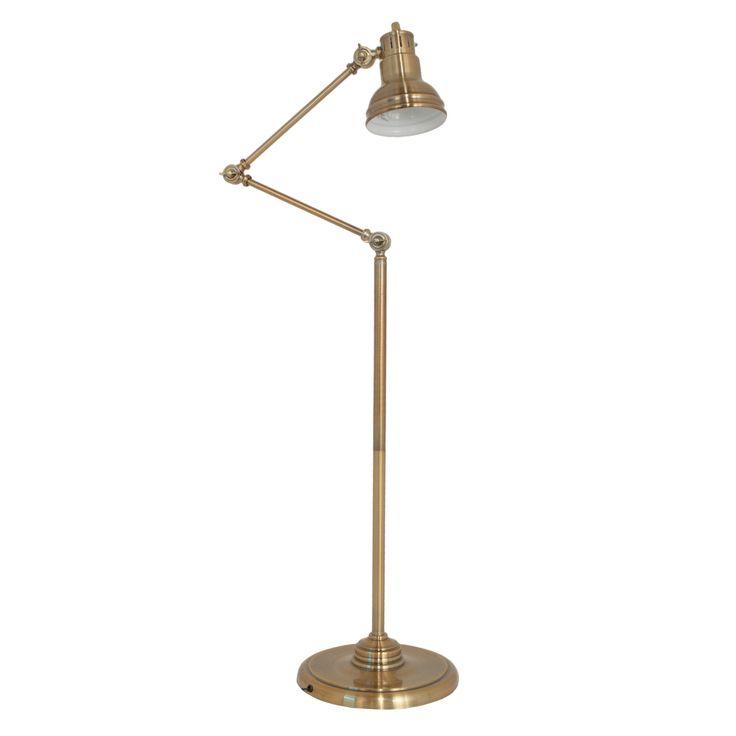 Best 25+ Antique brass floor lamp ideas on Pinterest | Gold floor ...