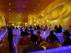 Interior of Morimoto Restaurant in Philadelphia, 2003