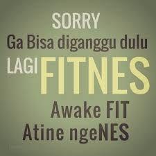 fitnes awake fit atine ngenes :p