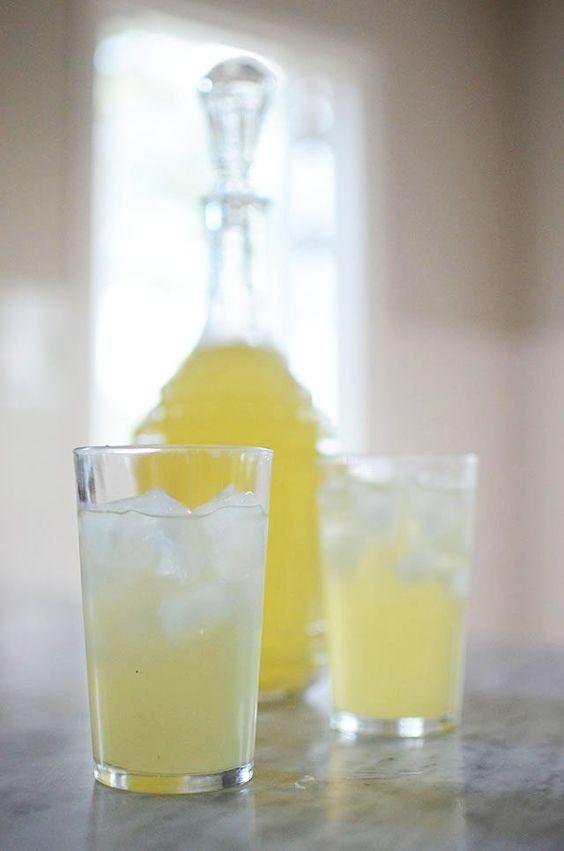 Göra egen citronsaft/lemonad