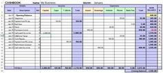 Use this excel cashbook template to track your income and expenses