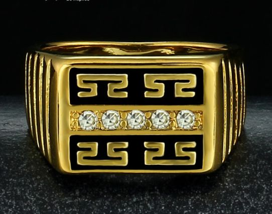 Men's Gold Ring $14.99USD
