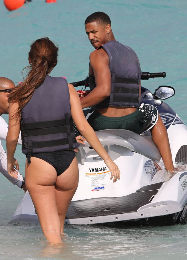 "Michael B. Jordan Goes Jet-Skiing With A ""Mystery Girl"""