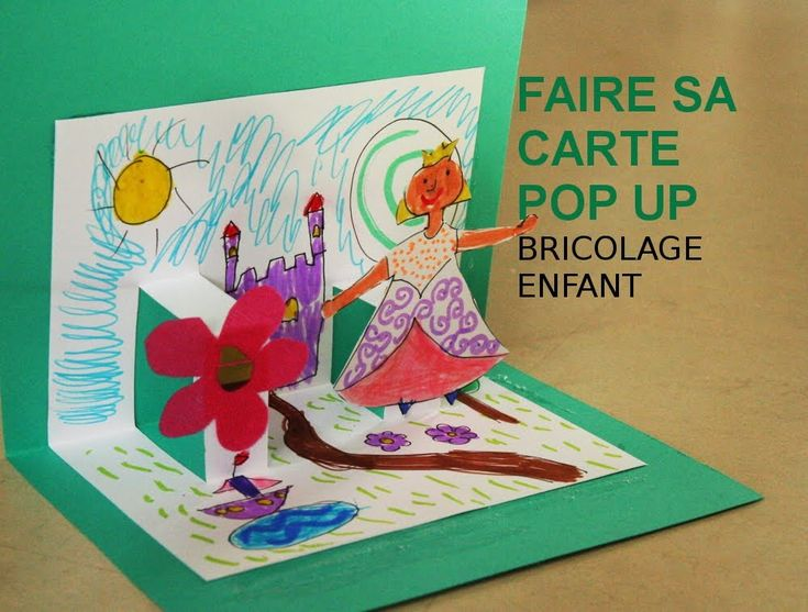 17 best images about id es pour la classe enfants on pinterest belle student centered - Carte pop up a fabriquer ...