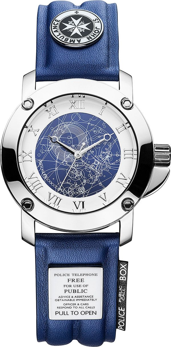 Officially licensed Doctor Who watch from Zeon Character.