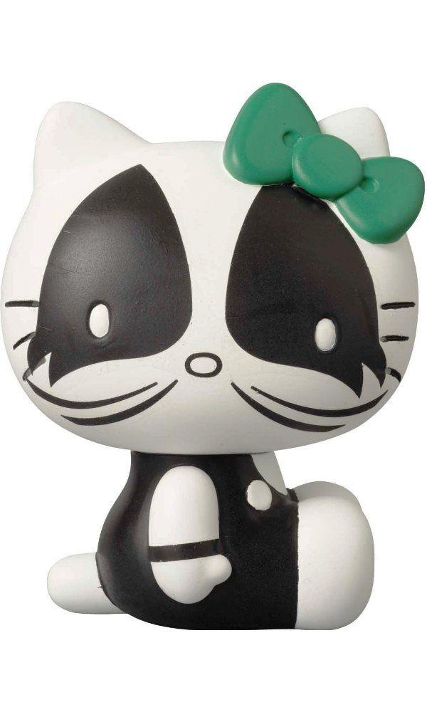 Medicom Kiss X Hello Kitty: The Catman Vinyl Collector Doll Best Price