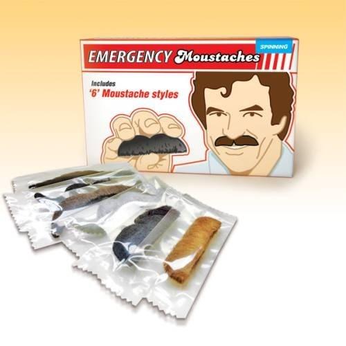Awaryjne wąsy / Emergency mustaches.