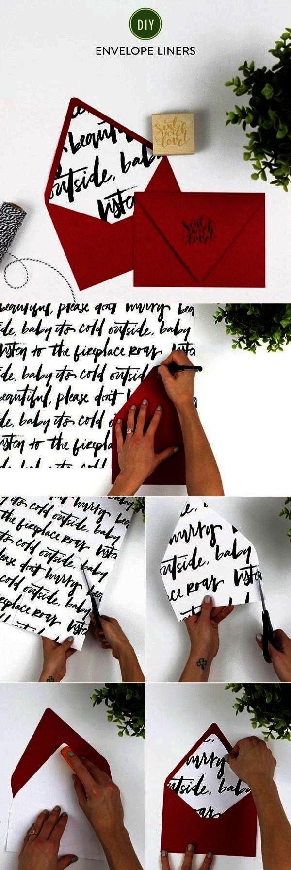 Wedding Invitations Cards DIY Wedding Invitations Brown Paper ...