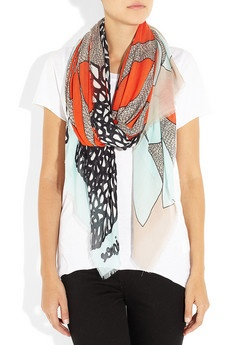 Modal Scarf - Untitled Arrows III by VIDA VIDA CoKp1F