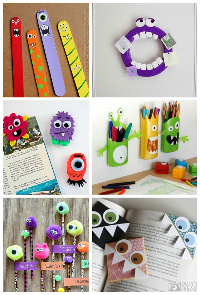 50 Monster Crafts for Kids for Any Time of Year!