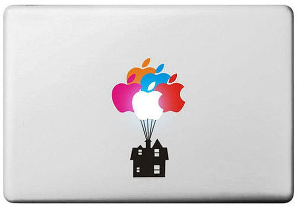 Up! Disney Movie Balloon House Apple Macbook Laptop Sticker Air/Pro/Retina 11/13/15/17"
