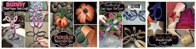 List of Cheap Toilet Paper Roll Craft Ideas For Kids  | SassyDealz.com