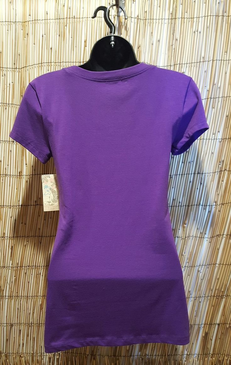 "Hinano ""Kaila"" Womens Purple Shirt"