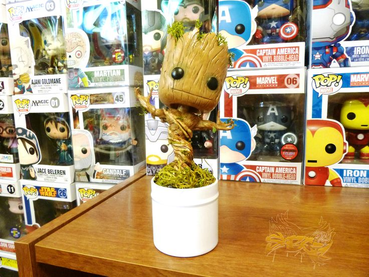 Groot OH MY GOSH!!!! I WANT HIM SO BADLY!!! They should make one that dances