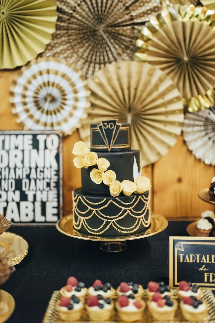 Fiesta temática gran gatsby // Ideas 30 cumpleaños // Great Gatsby party ideas