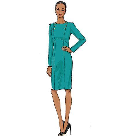 V9017 Misses' Dress | Very Easy