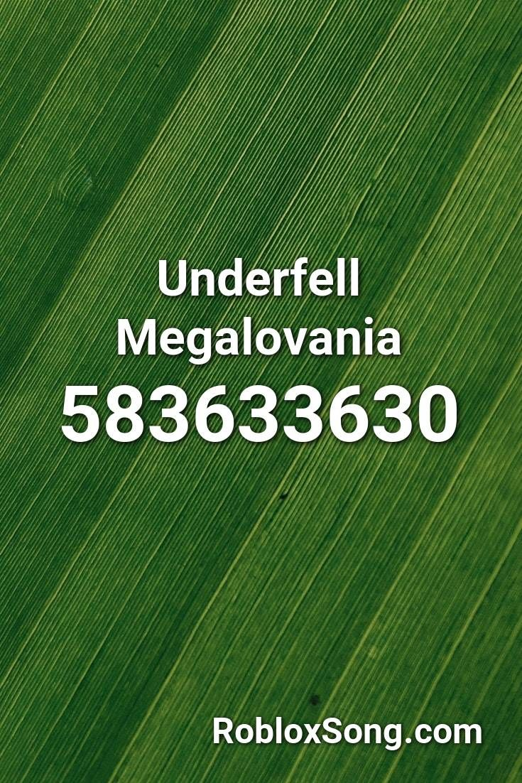 Underfell Megalovania Roblox Id Roblox Music Codes In 2020 Roblox Music Listening To Music