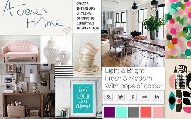 A Jones Home Mood Board, #blogboss decor8eclasses.com