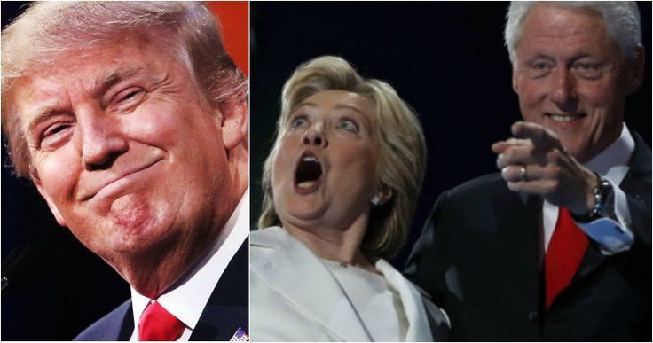 Trump Gets Sweet Revenge On Hillary & Bill, This Is PRICELESS