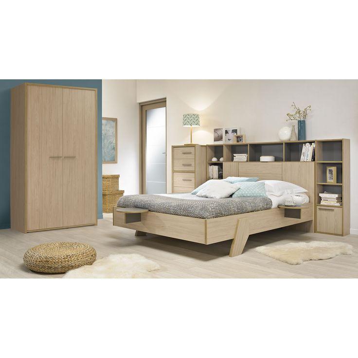 1000 id es sur le th me pont de lit sur pinterest armoire de chambre salon en cuir et chambre. Black Bedroom Furniture Sets. Home Design Ideas