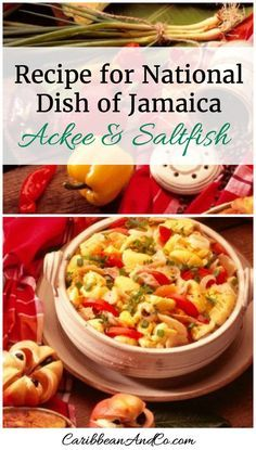 """Check out the recipe for national dish of Jamaica - Ackee & Saltfish from Jamaican sisters Suzanne Rousseau and Michelle Rousseau, who are former restaurateurs and award-winning caterers. They are now producers and culinary hostesses for the web series """"Island Potluck"""" which was created in conjunction with the Jamaica Tourist Board. They are also the authors of Caribbean Potluck – Modern Recipes from Our Family."""