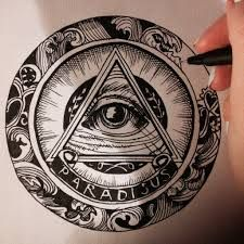 Image result for all seeing eye tattoo