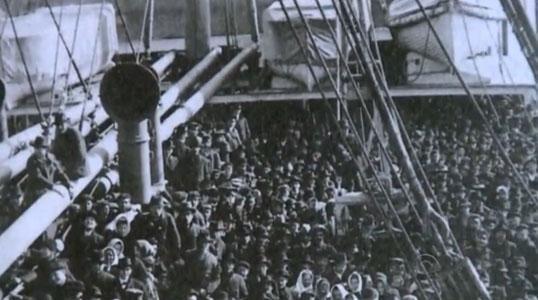 Viagem dos imigrantes italianos para o Brasil durava até 40 dias http://glo.bo/1HzEcDc #G1