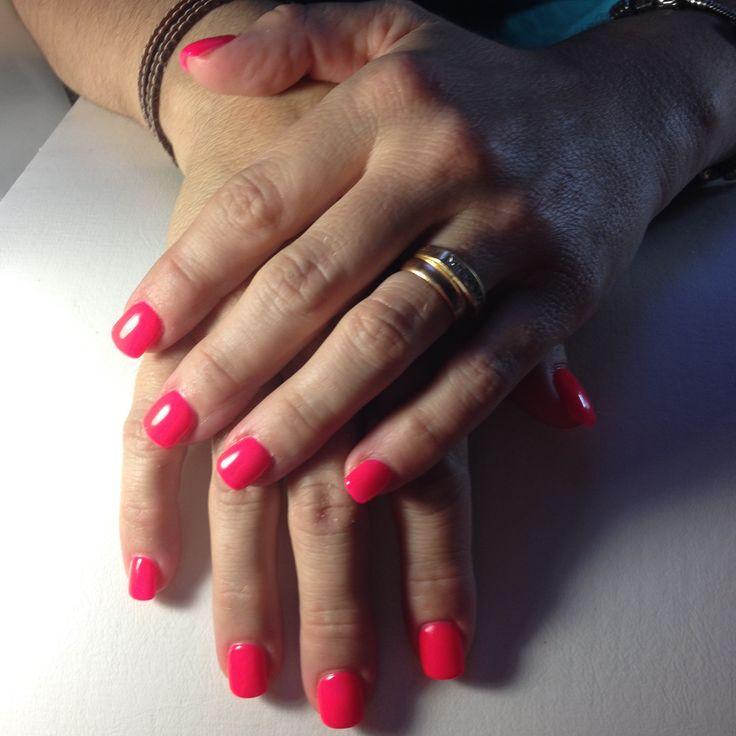 Nails Rosa Neon