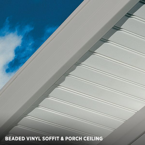 Vertical Siding Beaded Vinyl Soffit Amp Porch Ceiling