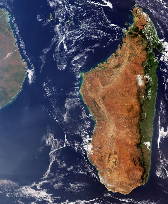 La Terre Vu De L Espace : terre, espace, Terre, L'espace, Madagascar, (vidéo), Espace, Terrestre,, Terre,, Monde