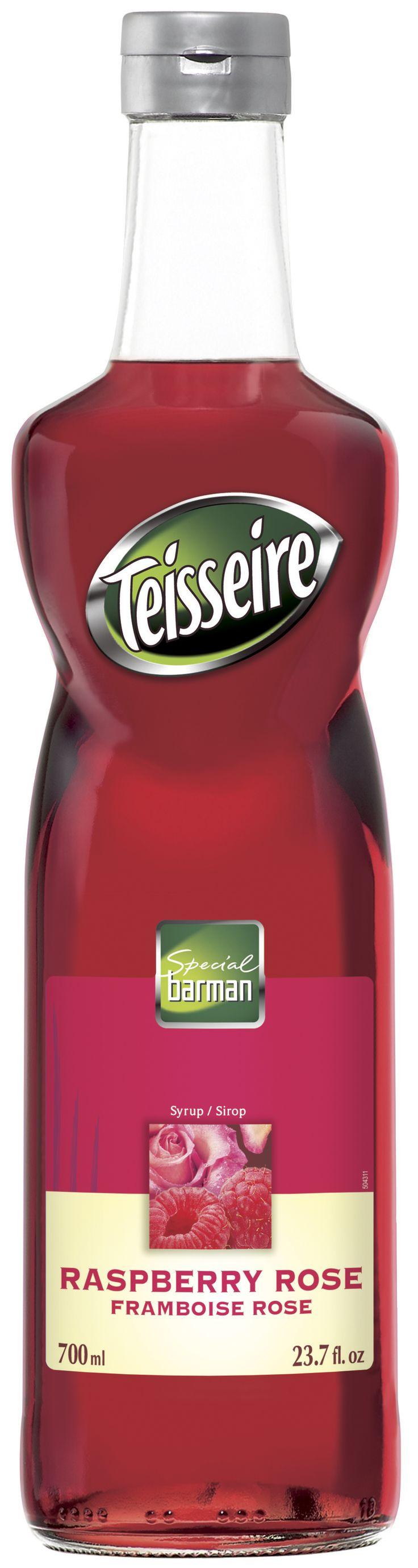 Σιροπι για κοκτέιλ, TEISSEIRE με framboise - raspberry # Granikal.