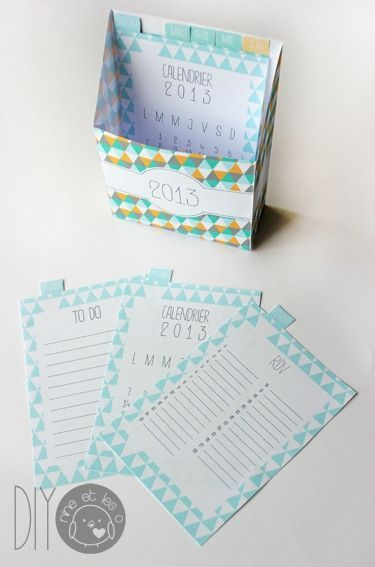 Boîte calendrier -rdv et listes