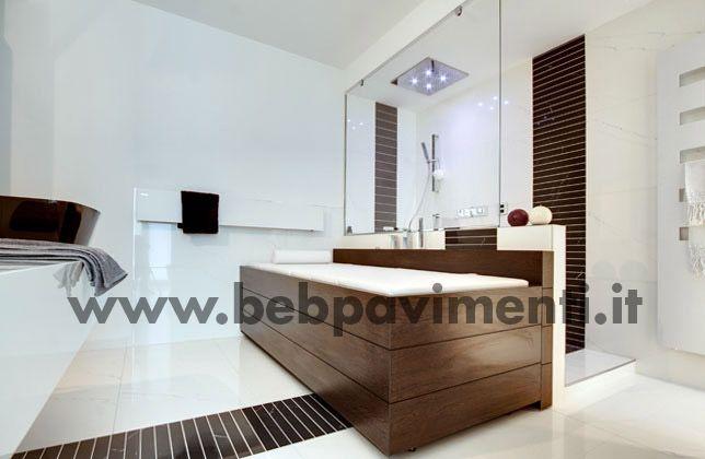 Abitazione privata: ns progettazione, fornitura pavimenti, rivestimenti bagno, mobili, sanitari, rubinetterie - www.bebpavimenti.it