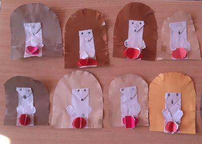 Játékos tanulás és kreativitás: Papírsüni almával