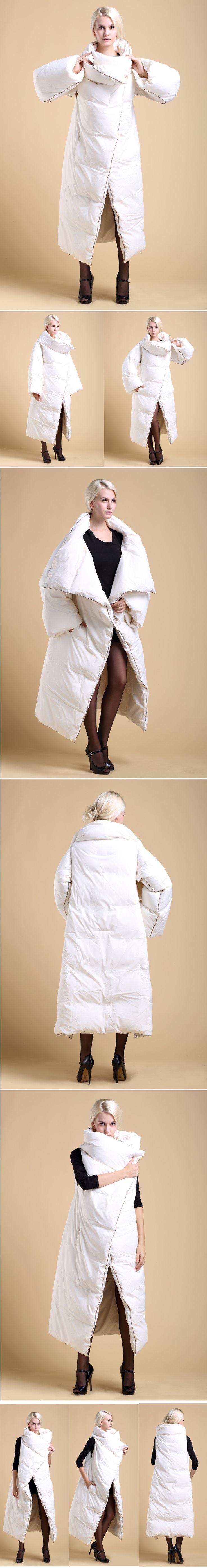 Высокое качество роскошные русская 2015 зима женская макси лонг супер белая утка вниз парка женщины мода толстые теплые плащ пальто куртки, принадлежащий категории Пуховики и парки и относящийся к Одежда и аксессуары для женщин на сайте AliExpress.com | Alibaba Group