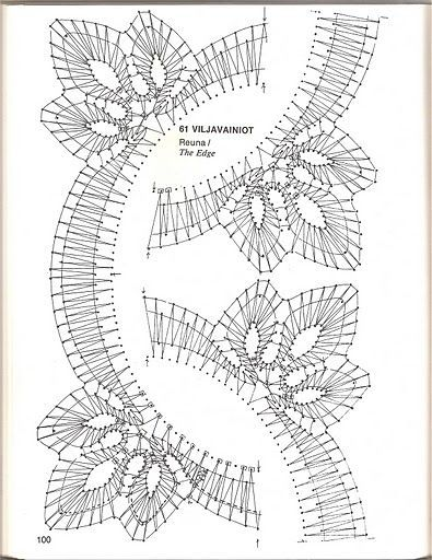 renda de bilros / bobbin lace esquemas / patterns: