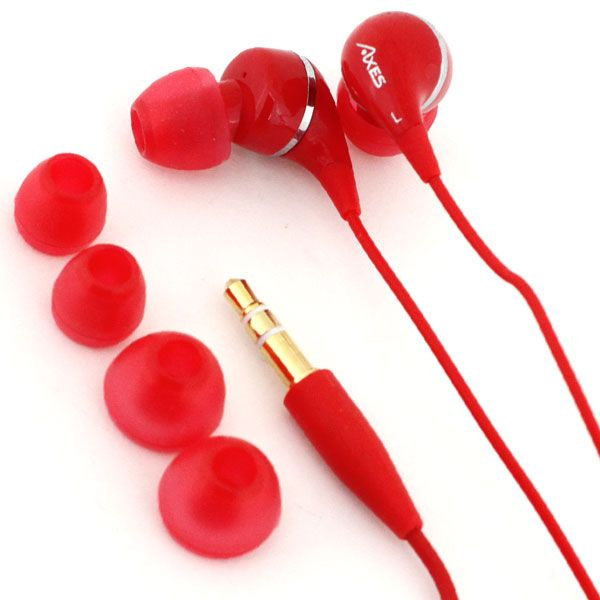 Hamee Strapya -Rare cell phone accessories from Japan at kawaii online superstore- | Rakuten Global Market: drop inner von ♪ colorful and drop earphone (red) fs3gm