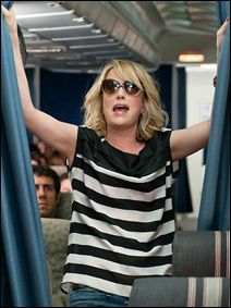 never laughed so hard at a movie... Bridesmaids.