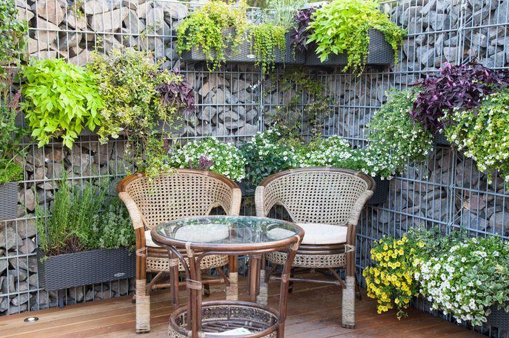 1000 ideen zu gabionen rund auf pinterest steinmauer. Black Bedroom Furniture Sets. Home Design Ideas